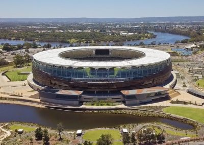 Perth Stadium Areial Shot